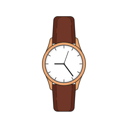 古典的な腕時計