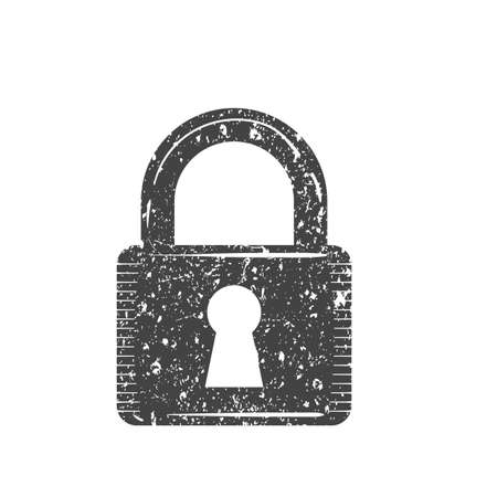 Lock icon Illustration