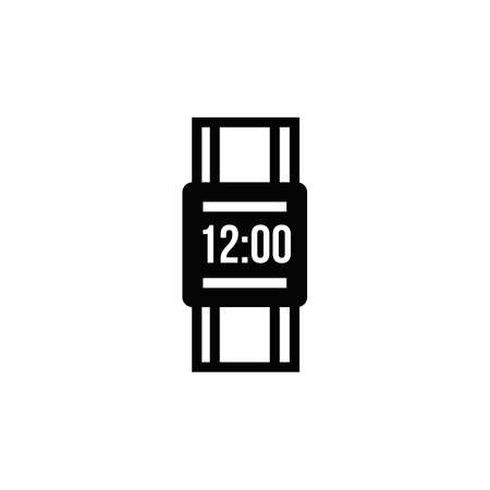Digital watch icon Ilustrace