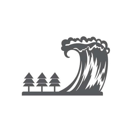 津波 写真素材 - 77254880