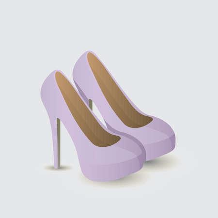 High heels Illusztráció