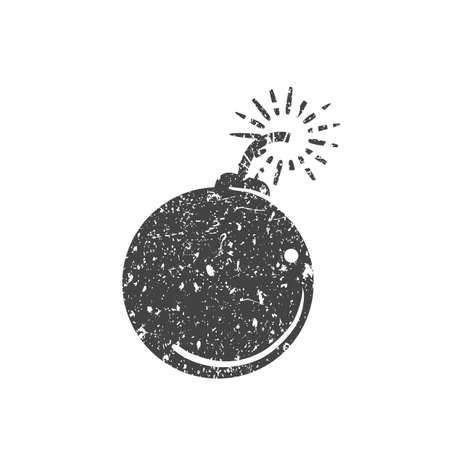 Bomb icon Illustration