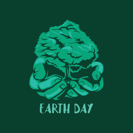 Earth day design Stock fotó - 77255023