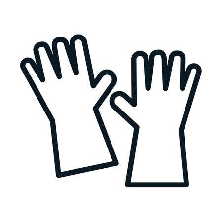 Washing gloves Reklamní fotografie - 77255033