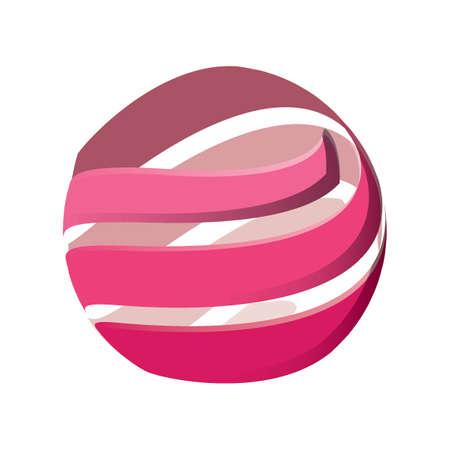 Abstract logo element Illustration
