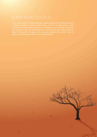simple tree poster