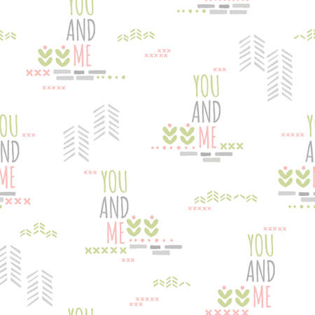 you and me background design