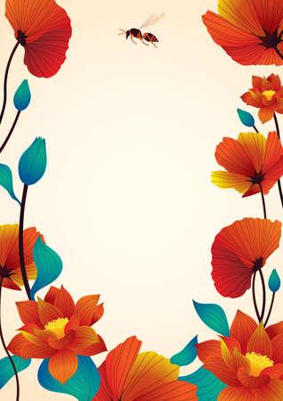floral poster design