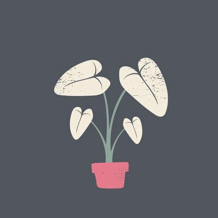 tropical plant Иллюстрация