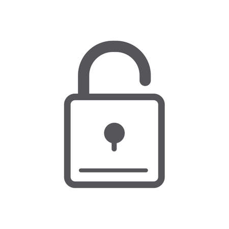 padlock 向量圖像