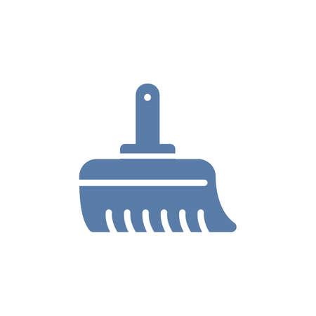 hand sweeper Banco de Imagens - 77300591