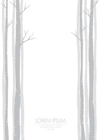 simple background with bare trees