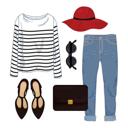 ladies casual fashion set