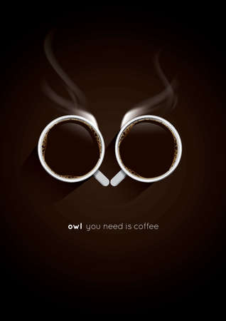 creative coffee poster