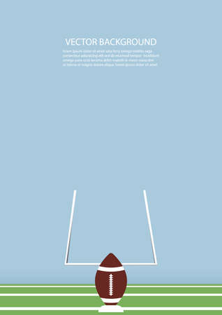 american football background design Ilustrace