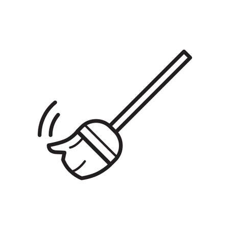 broomstick Illustration