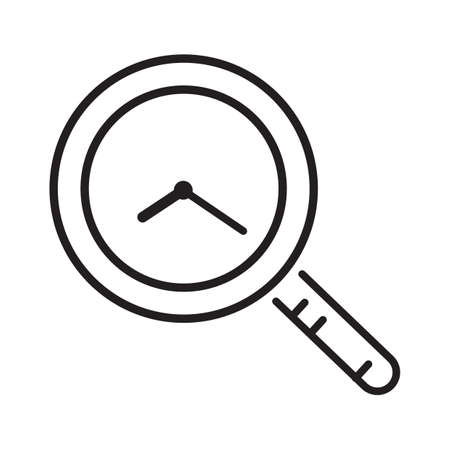 looking for time icon