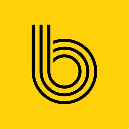 basic letters: simple letter b