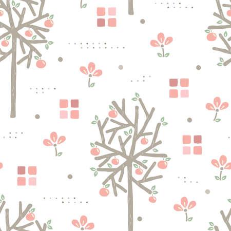 Floral background design Ilustrace