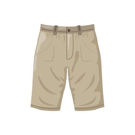 Cargo shorts Illustration