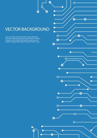 circuit board background design Ilustrace