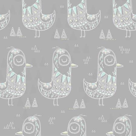seamless bird design