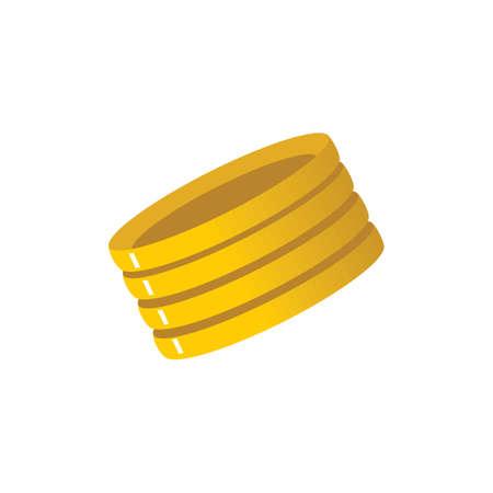 金のブレスレット 写真素材 - 77301417