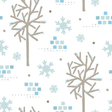 snowflake background design