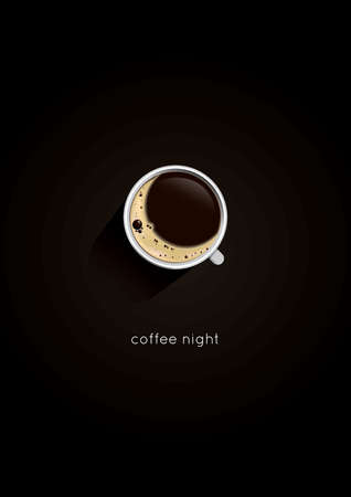 resemblance: Coffee night poster