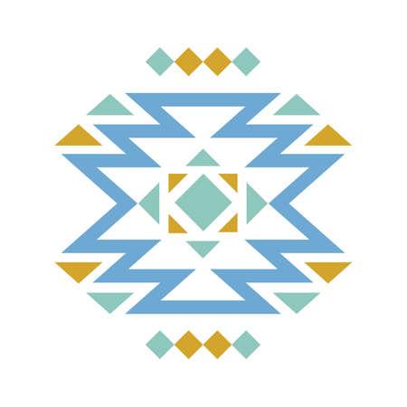 Aztec creative design Illustration