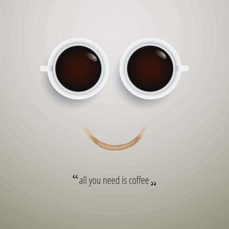 Diseño de la cita del café Foto de archivo - 77327122