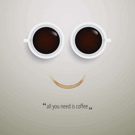 coffee quote design