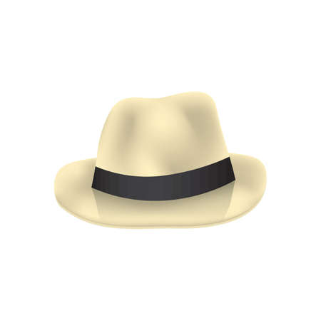 Fedora hat 向量圖像