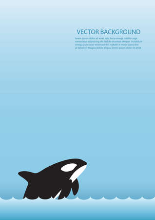 Orca background design