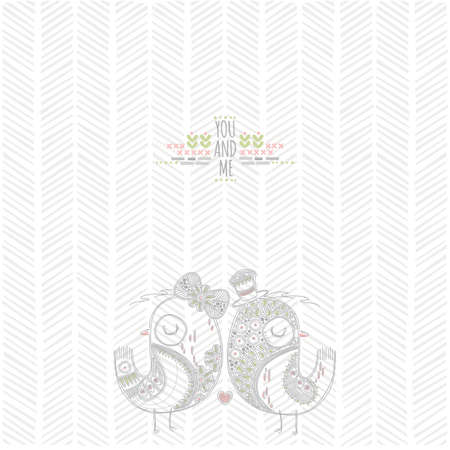 love birds background design