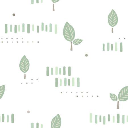 葉背景デザイン  イラスト・ベクター素材