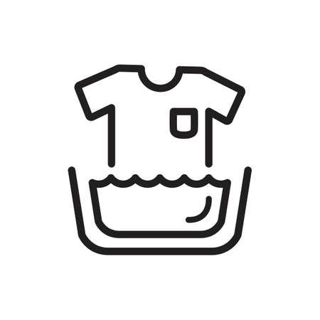 Washing instruction symbol