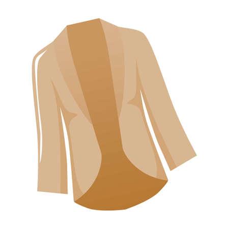 베이지 색 재킷