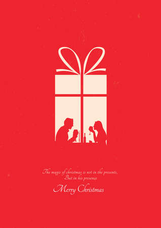 meaningful: christmas greeting design