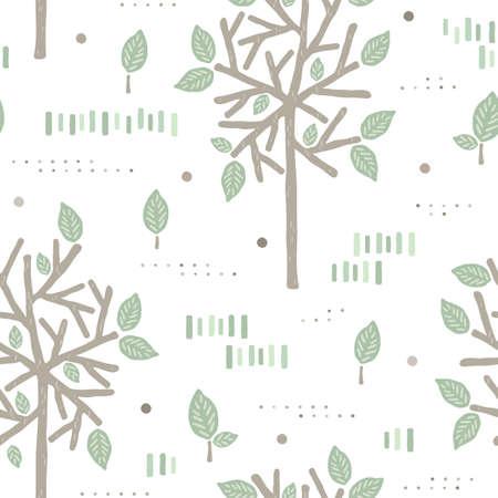 Leaves background design