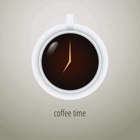coffee time design Imagens - 77176815