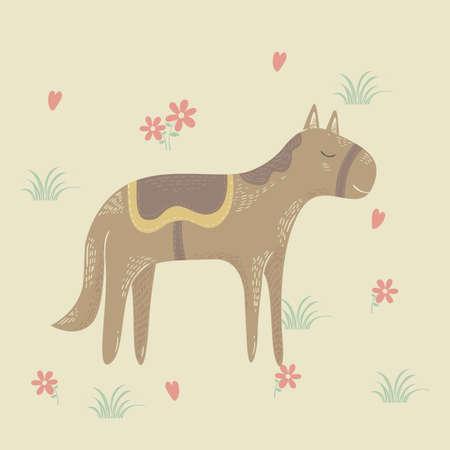 馬のデザイン