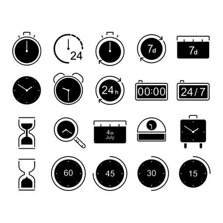 collection of times concept