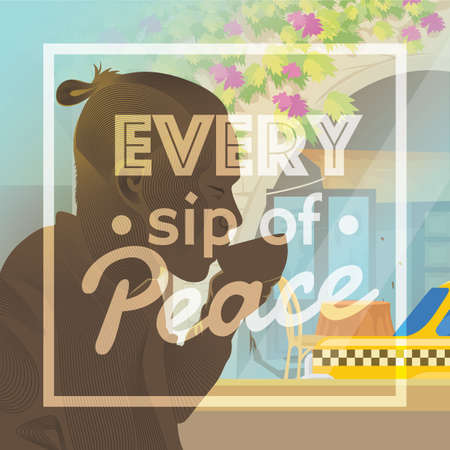 Every sip of peace design