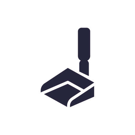 dustpan icon illustration