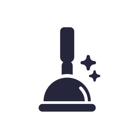 plunger icon illustration