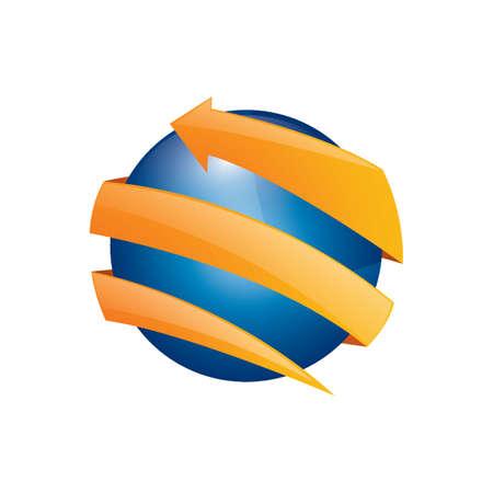 Globe design Vettoriali
