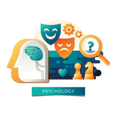 Psychologie concept