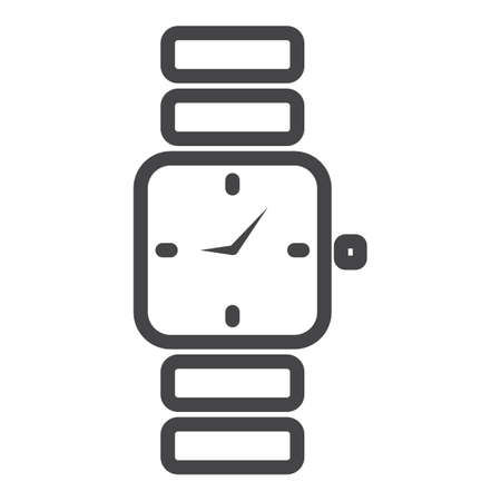 wrist watch icon Stock Vector - 77504954