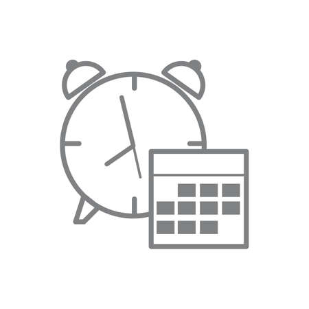 bell ringer: Reminder icon. Illustration